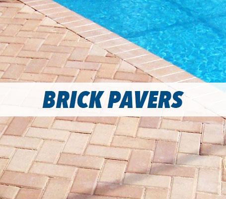 Brick Pavers Swimming Pool Decking