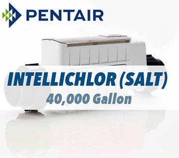 PENTAIR Intellchlor Salt Chlorine Sanitizer 40,000 GALLON