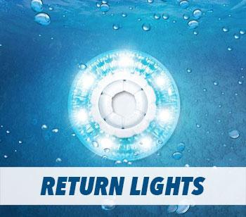 Swimming Pool Return Lights