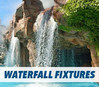 Swimming Pool Waterfall Fixture